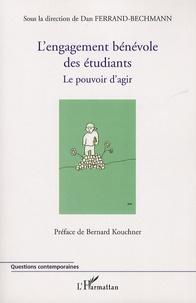 Dan Ferrand-Bechmann - L'engagement bénévole des étudiants - Le pouvoir d'agir.
