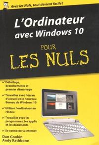 Dan Gookin - L'Ordinateur avec Windows 10 pour les nuls.
