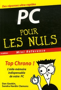 Dan Gookin et Sandra Hardin Clemons - Le PC pour les Nuls.