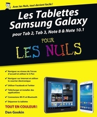 Dan Gookin - Les Tablettes Samsung Galaxy pour les Nuls.