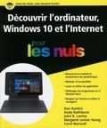 Dan Gookin et Andy Rathbone - Premiers pas avec l'ordinateur, Windows 10 et internet pour les nuls.