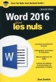 Dan Gookin - Word 2016 pour les nuls.