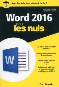 Histoiresdenlire.be Word 2016 pour les nuls Image