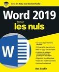 Dan Gookin - Word 2019 pour les nuls.