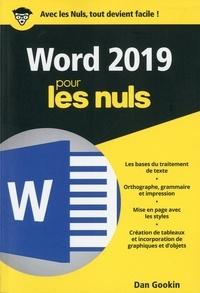 Téléchargement pdf des ebooks gratuits Word 2019 pour les Nuls (Litterature Francaise)