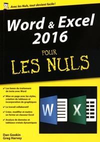 Word et Excel 2016 pour les Nuls - Dan Gookin | Showmesound.org