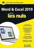 Dan Gookin et Greg Harvey - Word et Excel pour les nuls.
