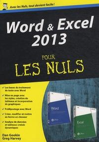 Word & Excel 2013 pour les nuls - Dan Gookin | Showmesound.org