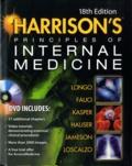 Dan L Longo et Anthony S Fauci - Harrison's Principles of Internal Medecine - 2 Volumes. 1 DVD