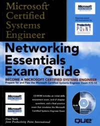 MICROSOFT CERTIFIED SYSTEMS ENGINEER. Networking Essentials Exam Guide. Avec un CD-ROM.pdf
