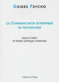 Dana Castro et Marie Santiago-Delefosse - .