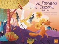 Dana Monceau et Nadia Leonard - Le renard et la cigogne - Edition français-anglais-arabe.