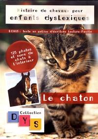 Danaé Filleur - Histoire de chevaux pour enfants dyslexiques - Le chaton.