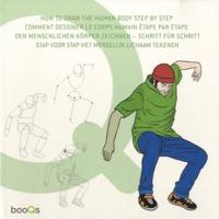 Dani Cruz - Comment dessiner le corps humain étape par étape - Edition français-anglais-allemand-néerlandais.