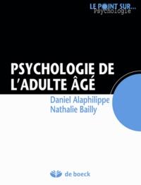 Deedr.fr Psychologie de l'adulte âgé Image