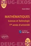 Daniel Alibert - Mathématiques Sciences et Technologie 1ère année d'université MIAS SM.