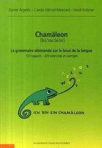 Daniel Argelès et Carola Hähnel-Mesnard - Chamäleon : la grammaire allemande sur le bout de la langue - 137 rappels, 323 exercices et corrigés.