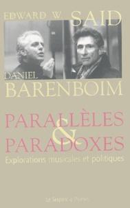 Daniel Barenboim et Edward-W Said - .