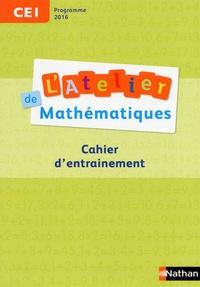 Daniel Bensimhon - L'Atelier de mathématiques CE1 - Cahier d'entrainement.