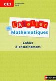 Daniel Bensimhon - L'atelier de mathématiques CE2 - Cahier d'entrainement.