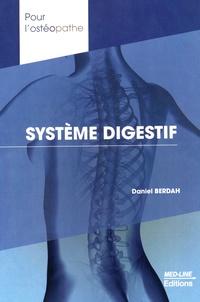 Daniel Berdah - Système digestif.