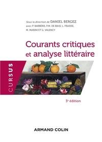 Daniel Bergez - Courants critiques et analyse littéraire.