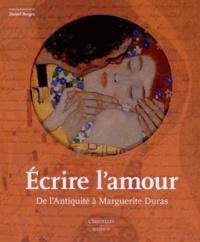 Deedr.fr Ecrire l'amour - De l'Antiquité à Marguerite Duras Image