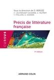 Daniel Bergez - Précis de littérature française.