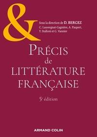 Daniel Bergez et Christiane Lauvergnat-Gagnière - Précis de littérature française.