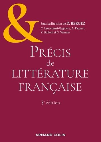 Précis de littérature française 5e édition