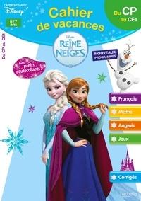 Cahier de vacances La Reine des Neiges 6/7 ans - Du CP au CE1.pdf