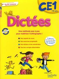Daniel Berlion et Jean Collet - Dictées Tout pour le primaire CE1.