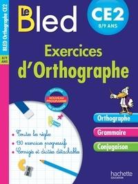 Daniel Berlion et Michel Dezobry - Exercices d'orthographe CE2 8-9 ans.