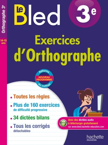 Le Bled 3e Exercices D Orthographe