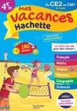 Daniel Berlion et Ninon Rame - Mes vacances Hachette du CE2 au CM1 - 8-9 ans.