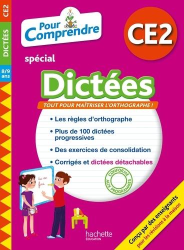 Daniel Berlion et Jean Collet - Pour comprendre spécial Dictées CE2 - 8/9 ans.