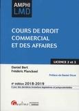 Daniel Bert et Frédéric Planckeel - Cours de droit commercial et des affaires.
