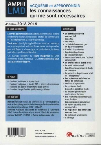 Cours de droit commercial et des affaires  Edition 2018-2019