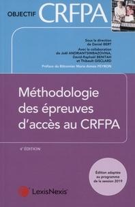 Daniel Bert et Joël Andriantsimbazovina - Méthodologie des épreuves d'accès au CRFPA.