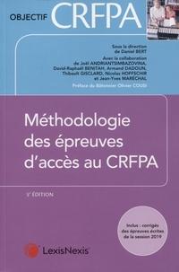 Daniel Bert - Méthodologie des épreuves d'accès au CRFPA.