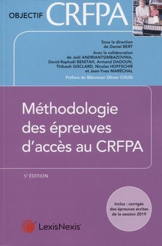 Méthodologie des épreuves d'accès au CRFPA 5e édition