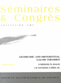 Daniel Bertrand et Philip Boalch - Geometric and differential Galois theories.