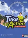 Daniel Bonnet-Piron et John Boymond - Anglais Bac pro Take Action - A2-B1.