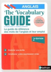 Daniel Bonnet-Piron et Edith Dermaux-Froissart - The Vocabulary Guide - Les mots anglais et leur emploi.