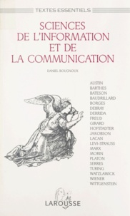 Daniel Bougnoux - Sciences de l'information et de la communication.