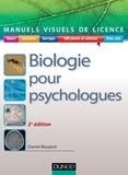 Daniel Boujard - Manuel visuel - Biologie pour psychologues - 2ed..
