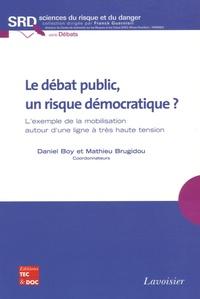 Daniel Boy et Mathieu Brugidou - Le débat public, un risque démocratique ? - L'exemple de la mobilisation autour d'une ligne à très haute tension.