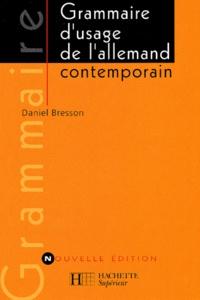 Deedr.fr Grammaire d'usage de l'allemand contemporain Image