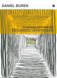 Daniel Buren - Excentrique(s), Monumenta 2012 - Esquisses graphiques.