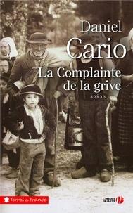 Daniel Cario - La complainte de la grive.